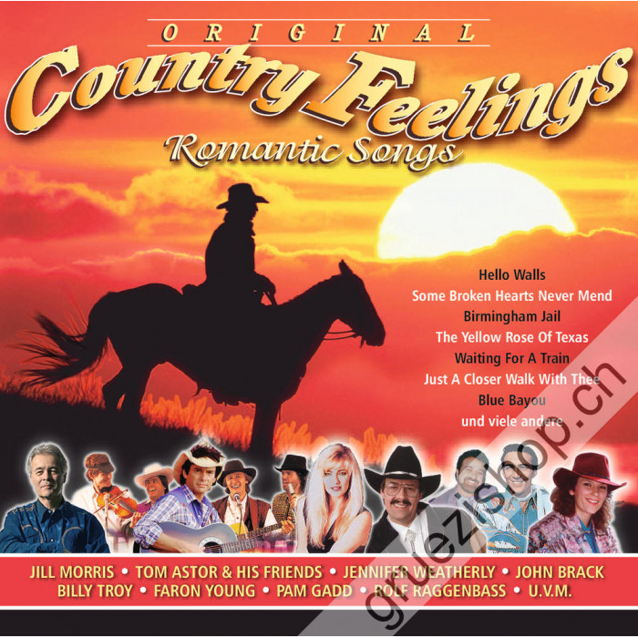 Diverse - Original Country Feelings - Romantic Songs