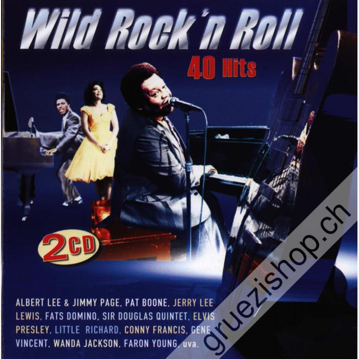 Diverse - Wild Rock'n Roll - 40 Hits