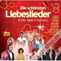 Die schönsten Liebeslieder - 36 Hits Made in Germany