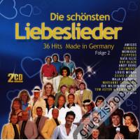 Die schönsten Liebeslieder - 36 Hits Made in Germany (Folge 2)