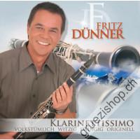 Fritz Dünner - Klarettisimo - Volkstümlich Witzig Swingig Originell