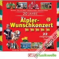 20 Jahre Älpler-Wunschkonzert - 22 vielgespielte Titel
