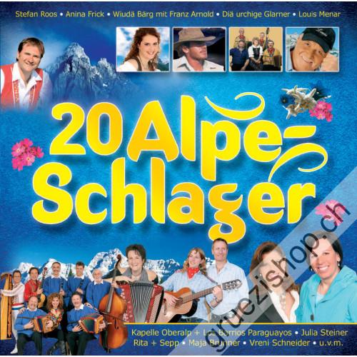 Diverse - 20 Alpe-Schlager