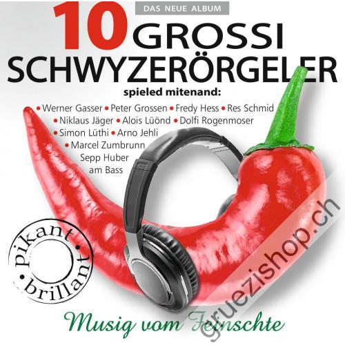 10 Grossi Schwyzerörgeler - spieled mitenand