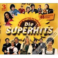 Die Superhits mit den grossen Stars der Volksmusik - 48 Volkstümliche Schlager (3CD-Box)