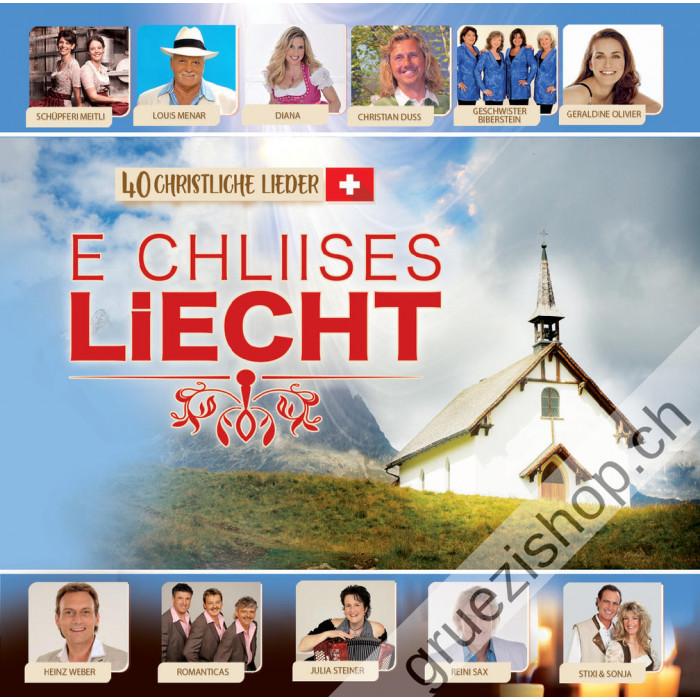 Diverse - E chliises Liecht (40 christliche Lieder)