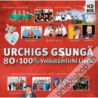 Urchigs gsungä - 80x 100% Volkstümlichi Liedli (4CD-Box)