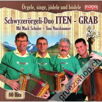 Schwyzerörgeli-Duo ITEN-GRAB - Örgele, singe, jödele und bödele