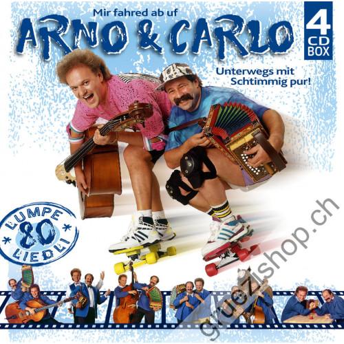 Arno & Carlo - Unterwegs mit Schtimmig pur - 80 Lumpeliedli